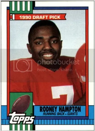 Card of the Day: Rodney Hampton 1990 Topps #48