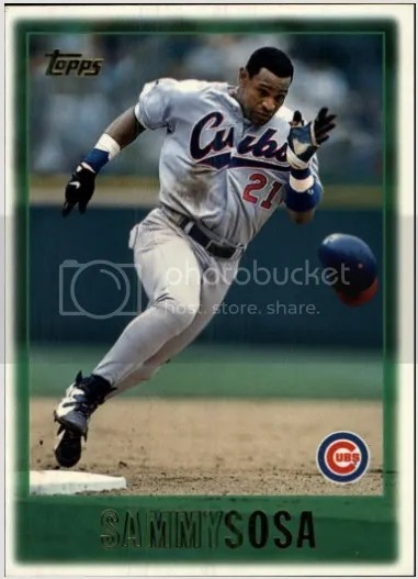 Card of the Day: Sammy Sosa 1997 Topps #305
