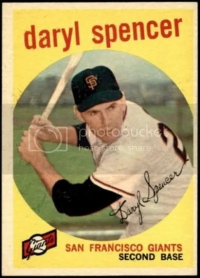 Card of the Day: Daryl Spencer 1959 Topps #443