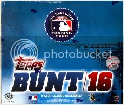 2016 Topps Bunt Box Break & Review