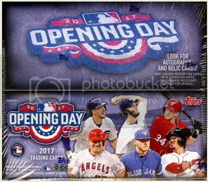 2017 Topps Opening Day Box Break & Review