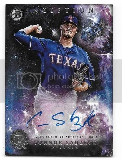 Rangers '16 Bowman Inception Auto Contest Winner Announced