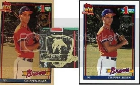 How To Spot Fake 1991 Topps Desert Shield Cards Sports
