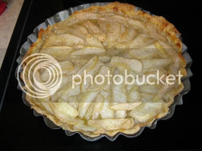 Pear Tart Baked 01