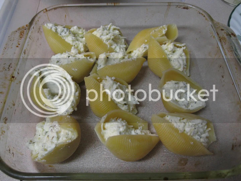 Uncooked Stuffed Shells