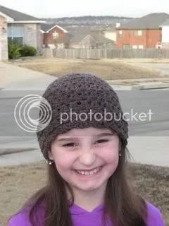 Brownie hat smile