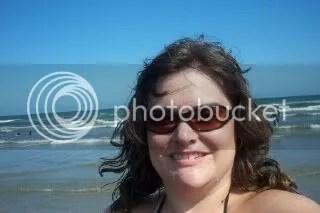 Tiffany at the beach