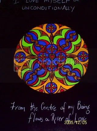 From the Centre of My Being...flows a River of Love