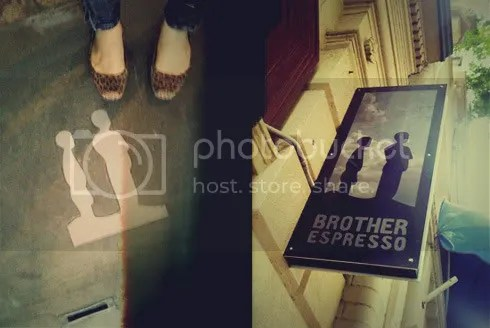 BROTHER ESPRESSO SIGNAGE