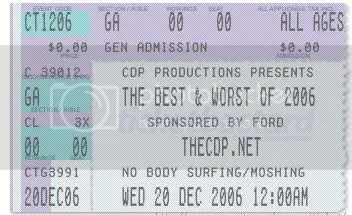 The Best & Worst Of 2006.