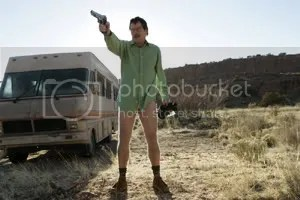 Walter takes aim