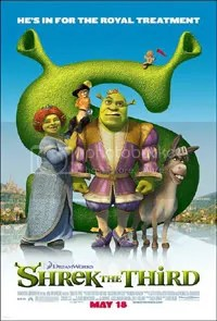 Oh that Shrek. With the funny costumes.