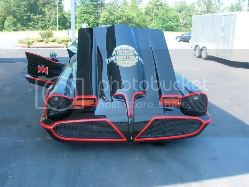 Batmobile Hood Stickers