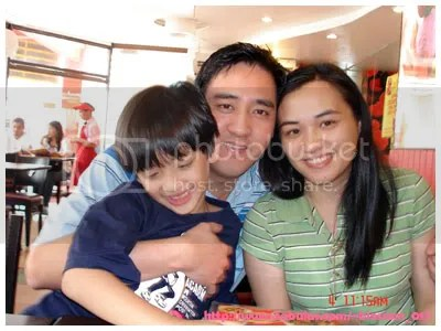 Miko, Kuya Mike and Ate Kris