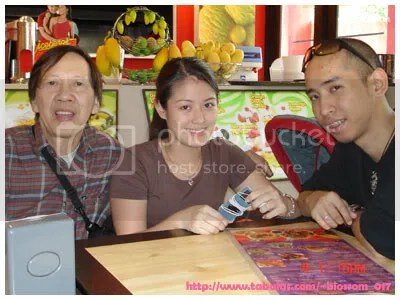 Tito Raff with Portia and Brian