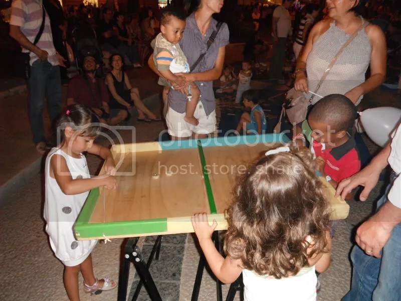 ...and kiddie games were all part of the festivities.