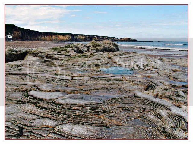 picture of rockpools, Marsden Bay, South  Shields