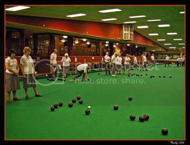 Indoor bowling club, South Shields