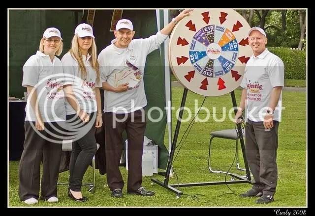 Staff of Majestic Bingo, South Shields