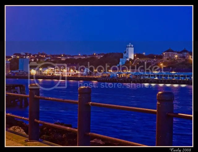 North Shields fish quay, viewed from South Shields