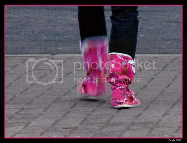 Pink Boots, South Shields