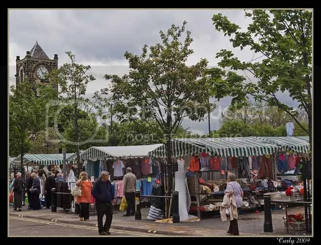 South Shields market