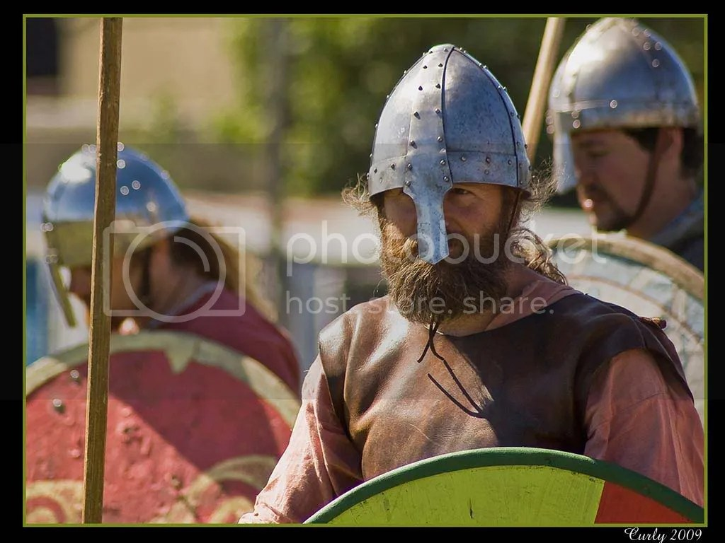 Vikings at Arbeia Roman Fort, South Shields