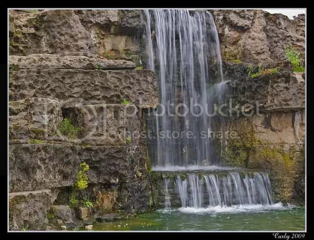 Waterfall, South Marine Park, South Shields