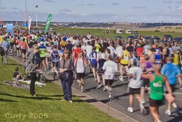 2009 Great North Run South Shields