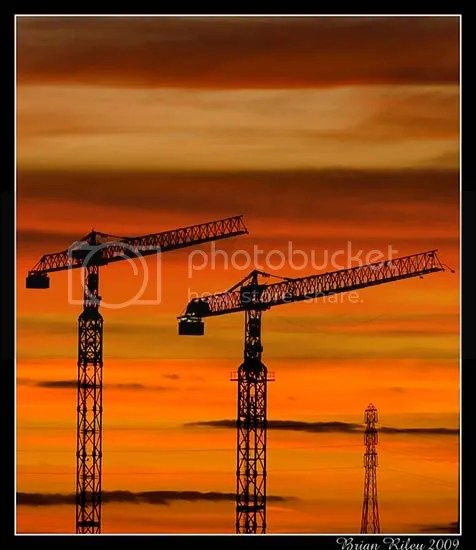 Cranes, River Tyne, South Shields