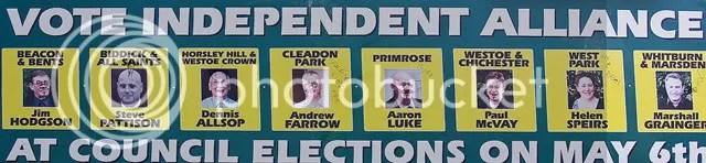 Independent Alliance Candidates 2010