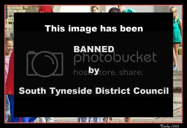 picture banned by South Tyneside Council