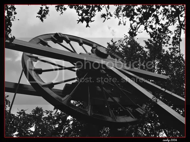 picture of St. Hilda's colliery wheel, South Shields
