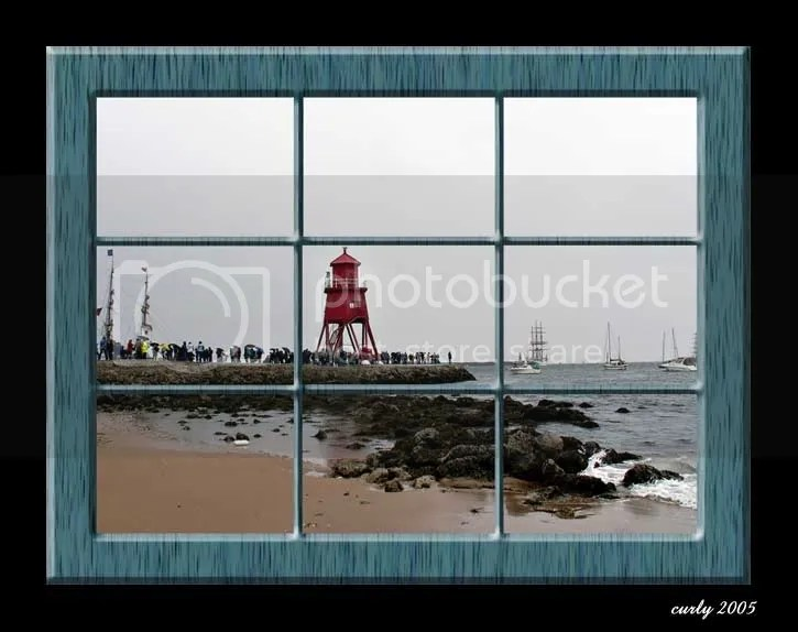 picture of tall ships, the Groyne, South Shields