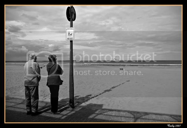 Couple at South Shields beach