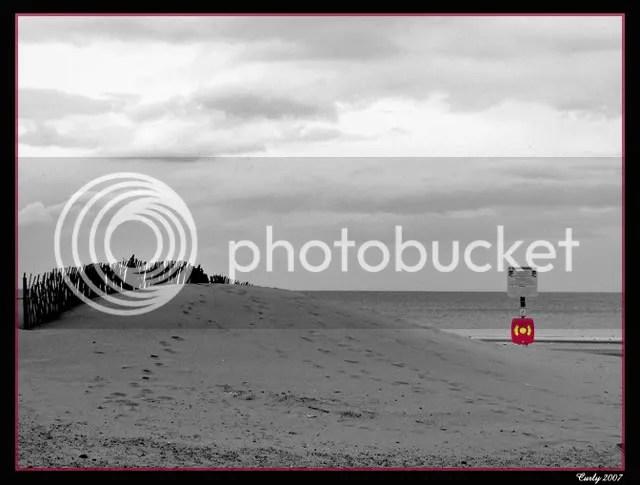 Life belt, Sandhaven Beach, South Shields