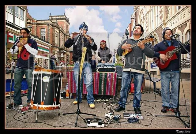 Street entertainers, South Shields