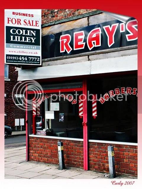Reay's barbershop, Dean Road, South Shields