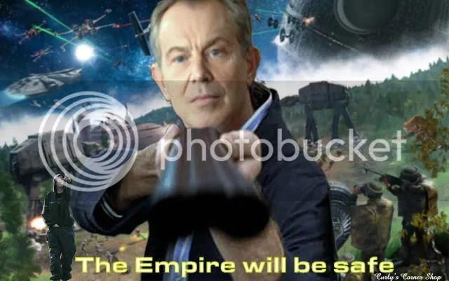 Blair defends the Empire