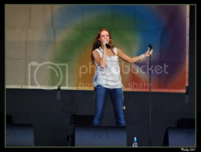 Liz McClarnon plays in South Shields