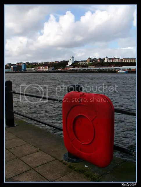 River Tyne from Harbour View, South Shields