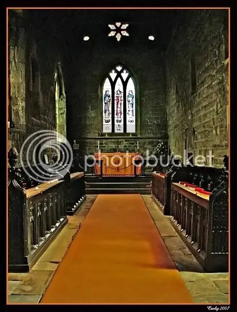 The chancel of St. Paul's church, Jarrow