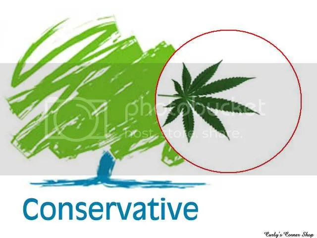 conservative tree logo spoof