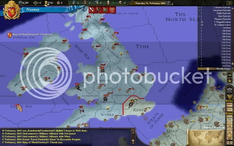 Norway 1603