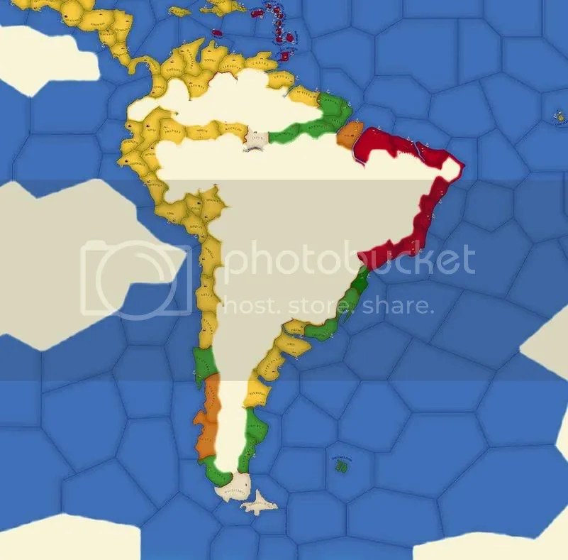 South America 1656