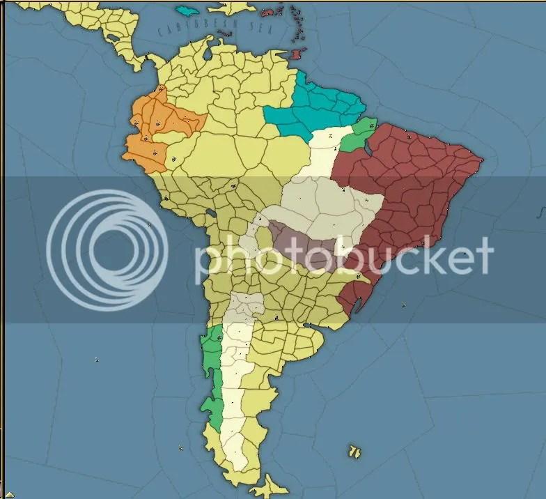 South America 1849