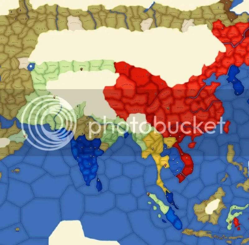 Asia, religion 1806