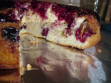 Mairionberry Upside Down Cake