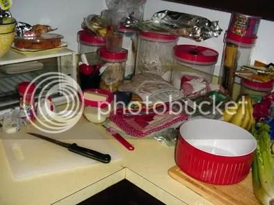 kitchen aftermath i