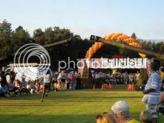 1st place 1/2 marathon runner